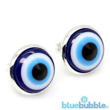 Bluebubble Mal Ojos Pendientes de Bola de ojo de vidrio Funky divertido novedad Cool Emo Fantasía