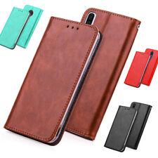 Handy Tasche für LG Flip Cover Schutzhülle Etui Case Handyhülle Blue Moon Wallet