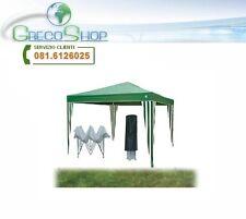 Gazebo pieghevole impermeabile in alluminio 3x3m Verde