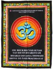 OM Gayatri Mantra AUM Wandbehang Pailletten Hinduismus Indien Nepal Tibet Veden