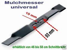 Rasenmähermesser Mulchmesser univ. bei 10mm Befestigung 445mm Schnittbr.45 / 46