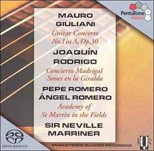 Giuliani: Guitar Concerto No. 1; Rodrigo: Concerto Madrigal; Sones en la Giralda