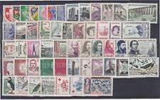 FRANCE ANNEE 1960 COMPLETE, N° 1230 à 1280, Cote: 85 €