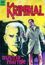 KRIMINAL N. 16 DEL 20 MAGGIO 1965