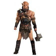 Ogrim Costume Adult World of Warcraft Orc Halloween Fancy Dress