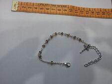 bracciale  rosario religioso cristalli iridati multicolor  bracciale bracelet