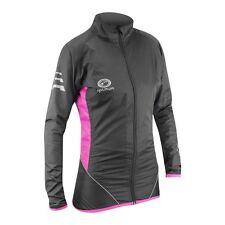 Optimum Sports Nitebrite High Visibility Womens Long Sleeve Cycling Rain Jacket