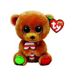 TY Beanie Boo Boos Christmas *** Bella the Bear *** Various Sizes