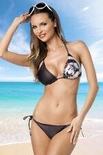 Biquini de triángulo con patrón mujer MICRO BIKINI BRASIL verano moda baño playa