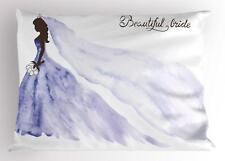 Bridal Shower Pillow Sham Decorative Pillowcase 3 Sizes Bedroom Decor