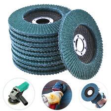 115/125mm Flap Sanding Disc 40~120 Grit 4.5'' 5'' Grinding Wheel Zirconium Oxide
