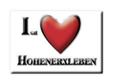 DEUTSCHLAND SOUVENIR - SACHSEN ANHALT MAGNET HOHENERXLEBEN (SALZLANDKREIS)