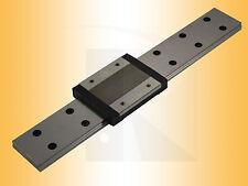 Miniatur Linearführung - Kugelumlaufführung - MR07-WL-.. (Schiene+Wagen)