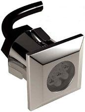 10 Square Head LED Deck Lighting Kit - White / Blue W/ Driver LEDDEC10KSQWHI /BL