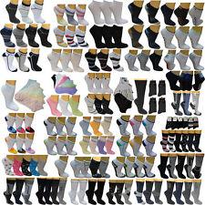 12 24 Herren Damen Sneaker Socken Freizeitsocken Füßlinge Sportsocken bunt Socks