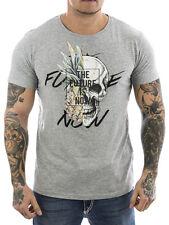 Sublevel T-Shirt Future 2277 grau NEU Männer Shirt