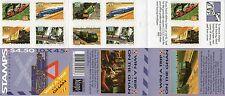 Australia 1993 Locomotive ferroviarie Peel & Stick $4.50 LIBRETTO Gomma integra, non linguellato