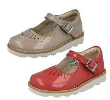 Clarks Niña Zapatos De Cuero Charol ' CORONA Salto '