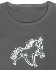 Tennessee Walking Horse Rhinestone Long Sleeve shirt black