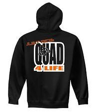YOUTH JUST RIDE QUAD 4 LIFE HOODIE SWEAT SHIRT JUMPER ATV CHILD YAMAHA KTM KID
