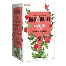 Heath & heather raspberry leaf tea 50 sacs