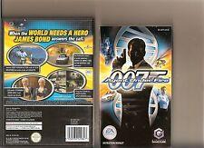 JAMES BOND 007 AGENT UNDER FIRE NINTENDO GAMECUBE / WII
