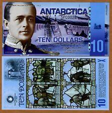 Antarctica, $10, Polymer, 2011, NEW, UNC --> SPC Scott
