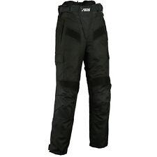 Herren-Damen Motorrad Sommer Textilhose - schwarz, UniSex Motorrad Textil Hose