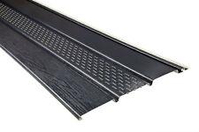 100 Kunststoffpaneele Dachkasten Verkleidung Unterdach Blende Soffit anthrazit