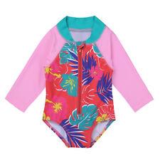 UV-Schutz  Badeanzug Strandanzug Schutzanzug Schwimmanzug Baby Mädchen Kinder