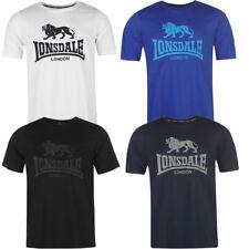 LONSDALE LONDON LL Logo Lion T-Shirt Homme S M L Xl 2xl 3xl 4xl Thé NEUF