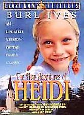 The New Adventures of Heidi (DVD, 2000) Katy Kurtzman, Burl Ives..NEW