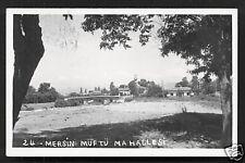 Mersin rppc Müftü Mahallesi Turkey 3 stamps 1958
