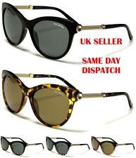 Polarized BeOne Crystal Cat Eye Round Diamante Womens Sunglasses 100%UV400 Katy