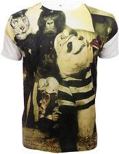 Nacido Para Ser Libre De Sublimación Full impresión frontal tshirt/tiger/bear / gorilla/funny/top