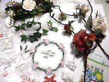 Deko Tischläufer Anstecker Kamm Hochzeit Taufe Konfirmation Kommunion Geburtstag
