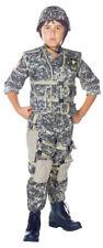 US Army Ranger Child Costume Desert Camo Helmet Military Solider Halloween