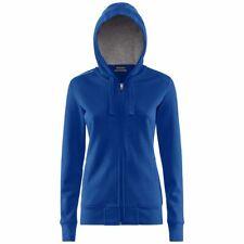 KAPPA WESON Pallavolo FELPA giacca BAMBINA CAPPUCCIO 4VOLLEY Sportiva Blu 618euj