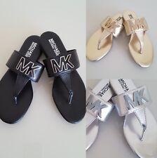 MICHAELMichael Kors Girl's Demi Becca Sandal Pre/Grade School Black/Gold/Silver
