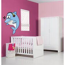 Sticker mural enfant bébé Dauphin 049