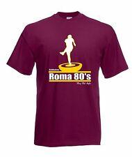 T-shirt Maglia J1508 Roma Anni 80 Retro Football Ultras Calcio Subbuteo