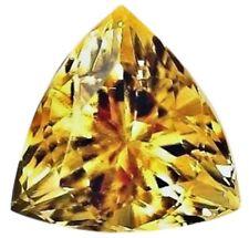 Natural Fine Golden Yellow Citrine - Trillion - Tanzania - AAA Grade