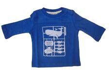 MEXX Jungen Baby Langarmshirt medium blue Gr. 56 62 68