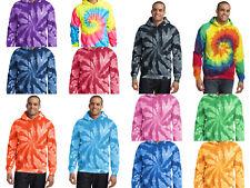 New Men's Tie-Dye Hoodie Tye Dyed Hooded Sweatshirt S M L XL 2XL 3XL 4XL Spiral
