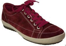 LEGERO Schuhe Sneaker Halbschuhe Schnürschuhe rot RUBIN Leder Wechselfußbett NEU