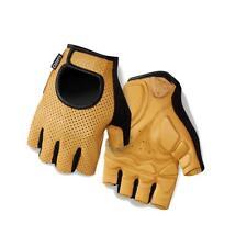 Short Finger Cycling Gloves Giro LX Performance Road Mitts Tan