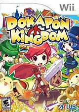 Dokapon Kingdom (Wii 2008) COMPLETE! - EXCELLENT! - RARE!