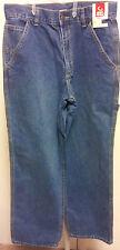 "Mens-Carpenter-Jeans-Size-30x30-36x30-Medium-Light-Wash-30""-Inseam-Classic-Blue"