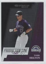 2005 Donruss Production Line On-Base Percentage #Pl-9 Todd Helton Baseball Card
