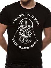 Guerra De Las Galaxias Darth Vader Lado oscuro Sith Lord oficial Last Jedi Negro para Hombre Camiseta